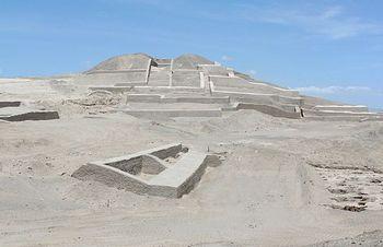 ナスカの地上絵-ピラミッド