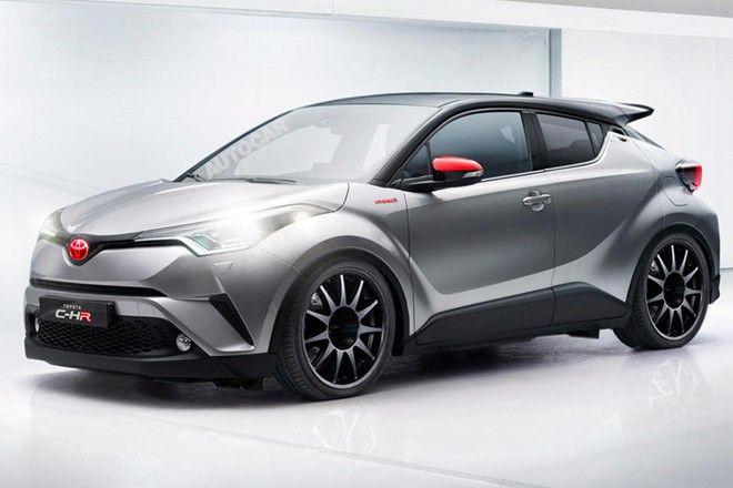 新車速報 Car Drive : トヨタ C-HRのハイパフォーマンス仕様を検討