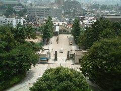 時計台公開(5)屋上からの眺め