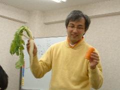 たのゼミ《生物と種》体験講座:講師の小林さん