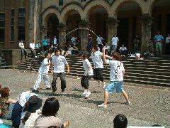 東京大学五月祭(2)ダブルダッチ