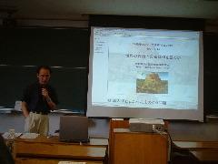 COEテーマ講義(8)大堀壽夫さん