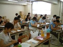 体験講座《宇宙への道》(2)授業風景