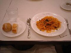 ルヴェ・ソン・ヴェールの食事