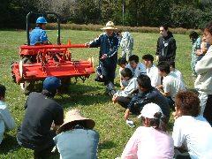 農場トラクター実習
