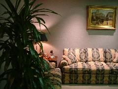 フランクリン・コヴィー社のソファ