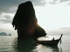 夕日のHappy Island