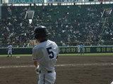 広陵 土生三塁手