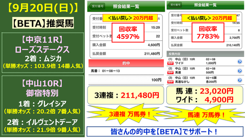 921【BETA】的中