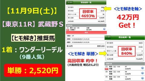 ヒモ解き武蔵野S119