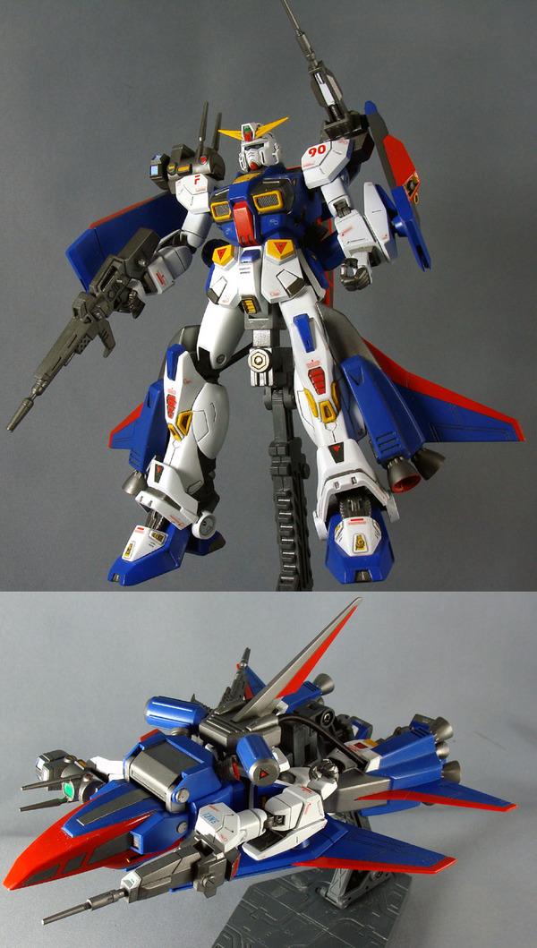 004 ガンプラ ガンダムF90