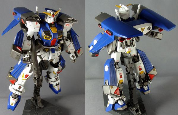 006 ガンプラ ガンダムF90