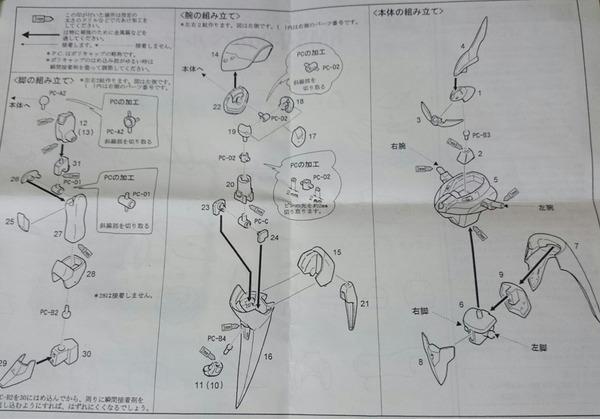 003 機動新世紀ガンダムX ガンプラ
