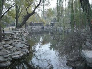 宋慶齢故居池