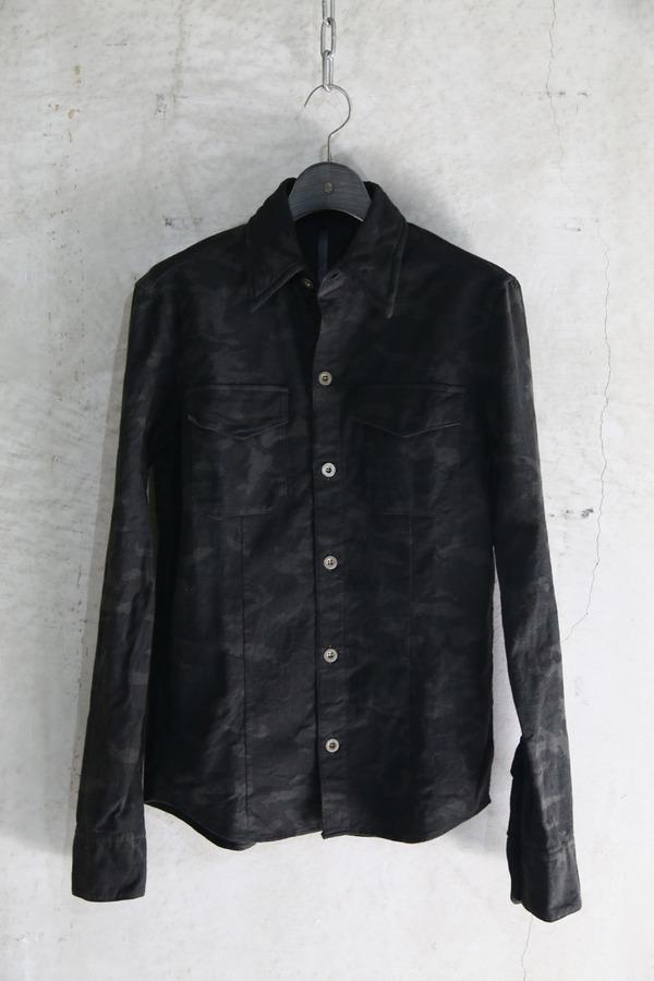 7306(迷彩ネルシャツ)_BLACK PEARL01