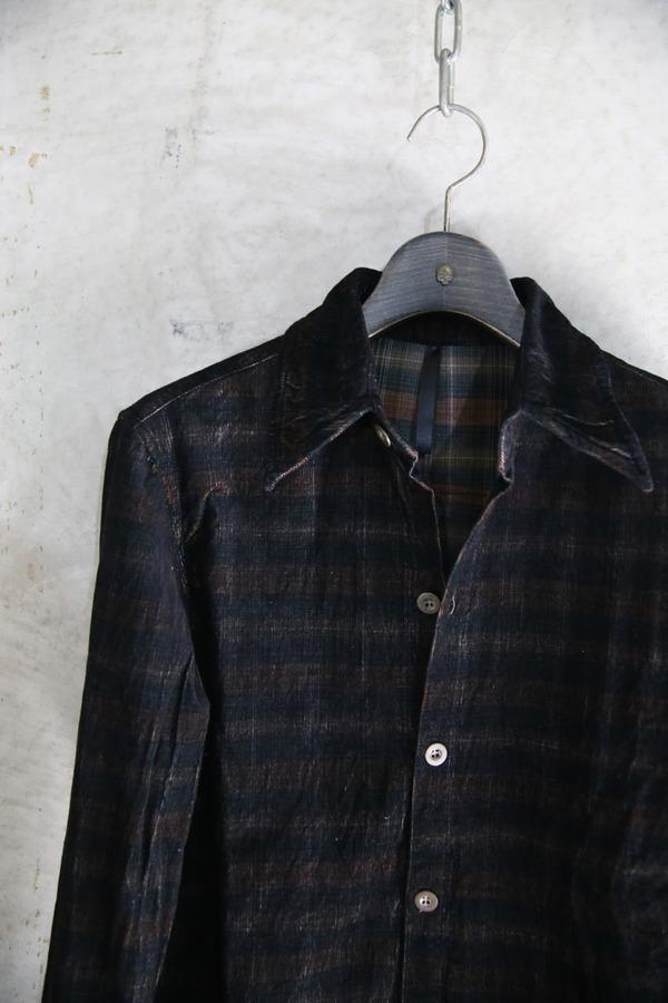 7302(コールチェックシャツ)_BLACK STALL04