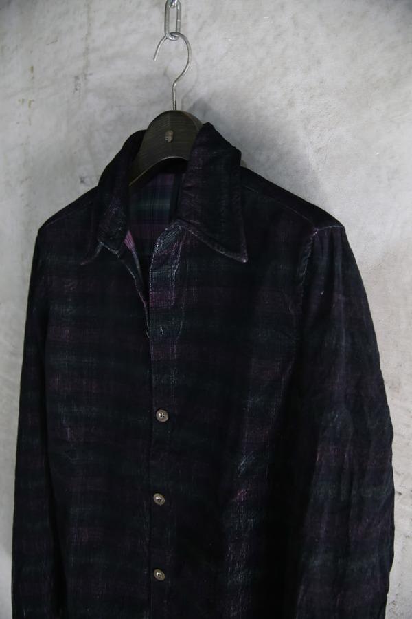 7302(コールチェックシャツ)_BLACK STALL15