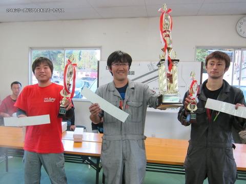 ドリフトエキスパートクラス2018シリーズ入賞者