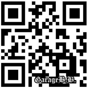 ガレージビービーのホームページ