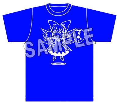 SAMPLEチルノ サイキョー Tシャツ