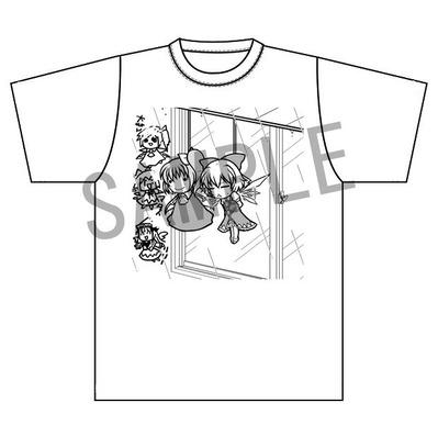 SAMPLE緊縛チルノTシャツ