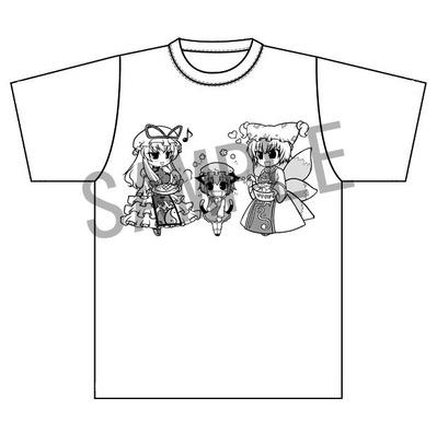 SAMPLE八雲一家Tシャツ