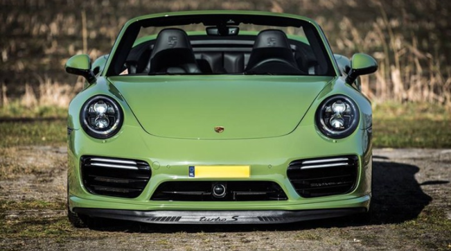 Porsche-911-Turbo-S-Cabriolet-Olive-Green-Changes