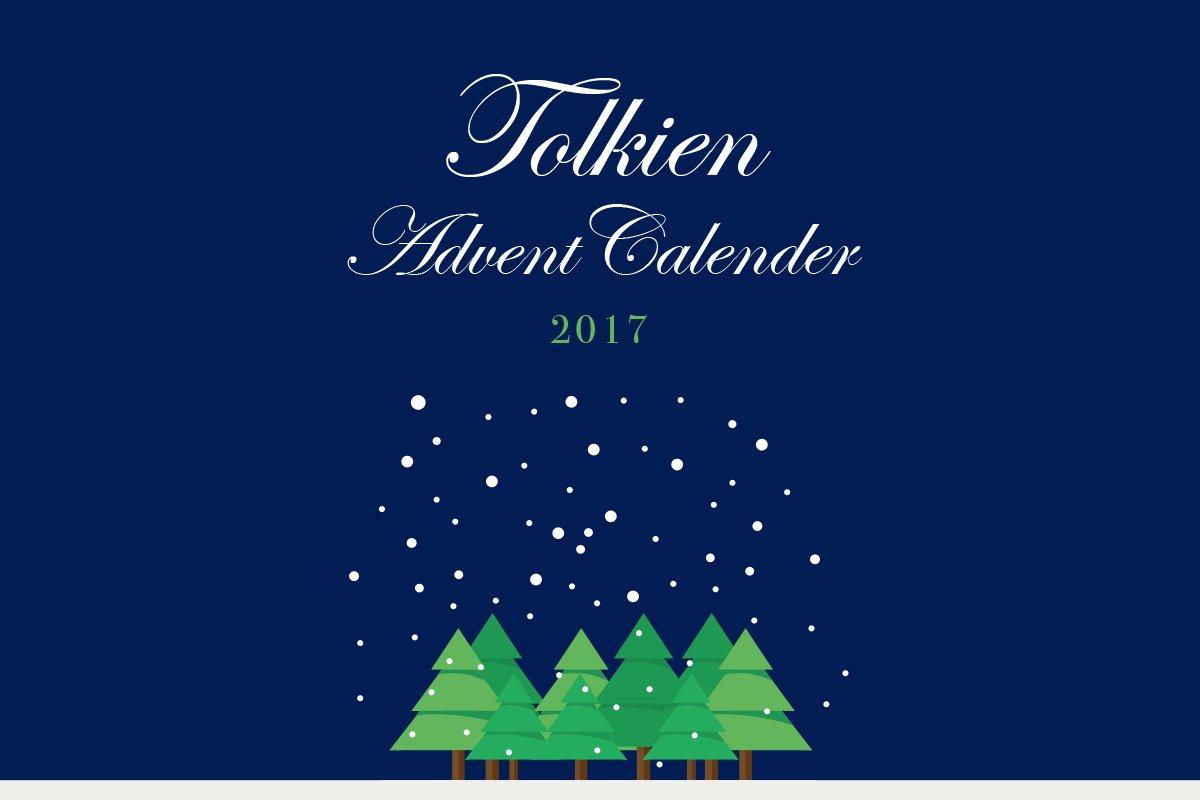 トールキンアドベントカレンダー2017 バナー