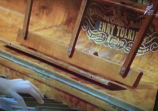 ドラマ「べっぴんさん」からピアノの画像