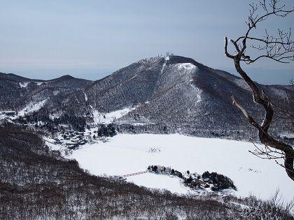 赤城山の雪景色