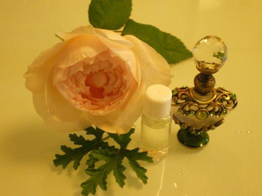 春の天然アロマ香水
