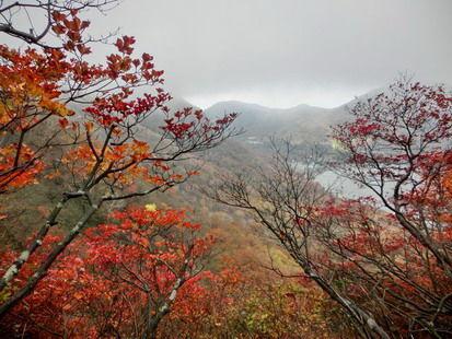 赤城山は冬景色