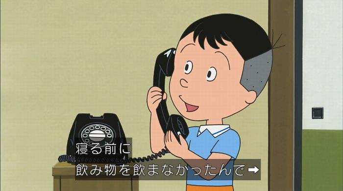 サザエさん「階段より怖い電話」のキャプ58