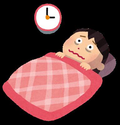 【悲報】ワイ不眠症、今日も3時間しか眠れず