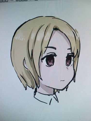 【絵スレ】女の子描く練習してます