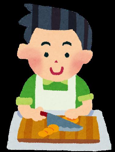 男の料理の特徴「油ドバドバ、調味料ドバドバ」「常に強火」「洗い物はしない」
