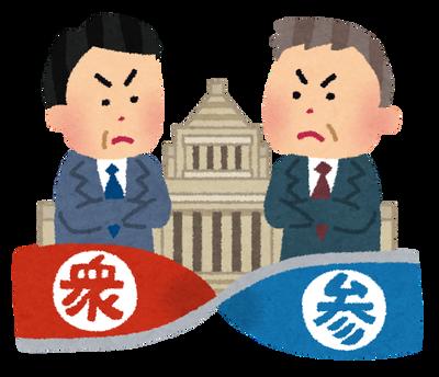 【悲報】野党さんの支持率、立憲れいわ以外急減してしまう…