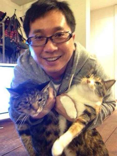 田中裕二と二匹の飼い猫