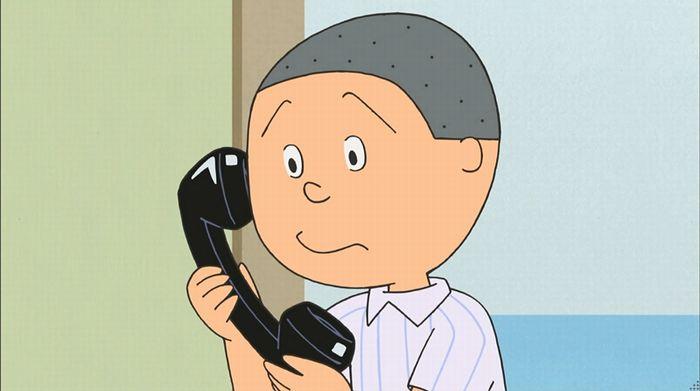 サザエさん「階段より怖い電話」のキャプ32