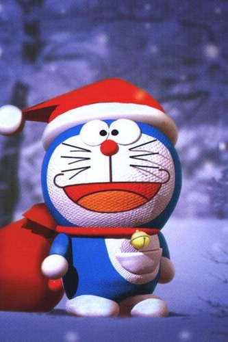 Doraemon-Christmas-Santa-Claus-Wallpaper-1024-768