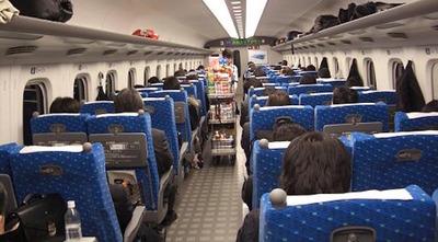 私「ここ空いてますか」→女性「指定席券を買ってあります」 新幹線で、私は虚を突かれた思いがした