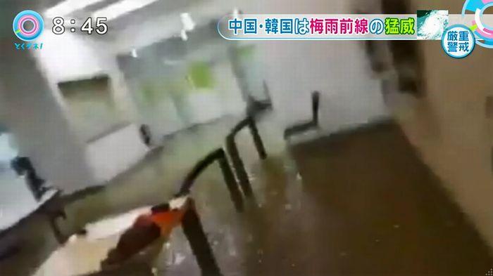とくダネ!韓国の大学の雨漏りのキャプチャ12