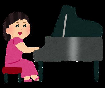 女YouTuber「セクシー衣装着てピアノ弾くンゴ」