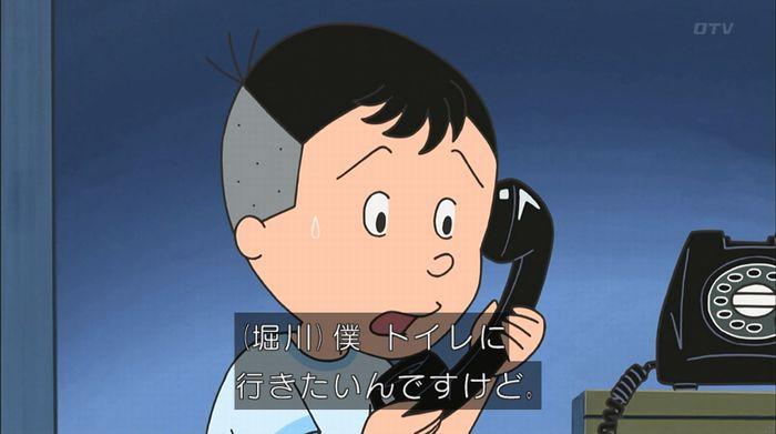 サザエさん「階段より怖い電話」のキャプ21