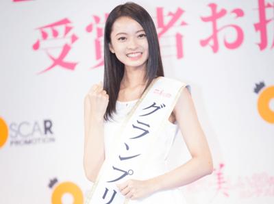 【おめ!】「ミス美しい20代コンテスト」グランプリは愛知県出身の川瀬莉子さん!