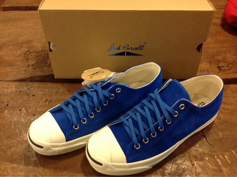 CONVERSE  JackPurcell 1CL405 RET SUEDE ROYAL BLUE 入荷