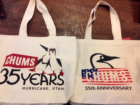 CHUMS 35th Anniversary Tote Bag 入荷