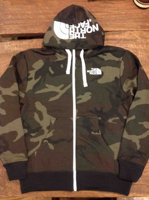 THE NORTH FACE NOVELTY REARVIEW FULL ZIP HOODIE 入荷