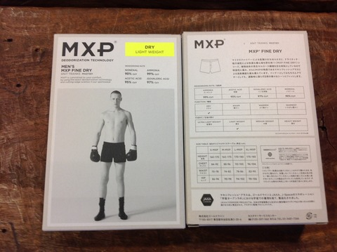 MXP MEN'S MXP FINE DRY 入荷