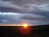 パタゴニアの夕日